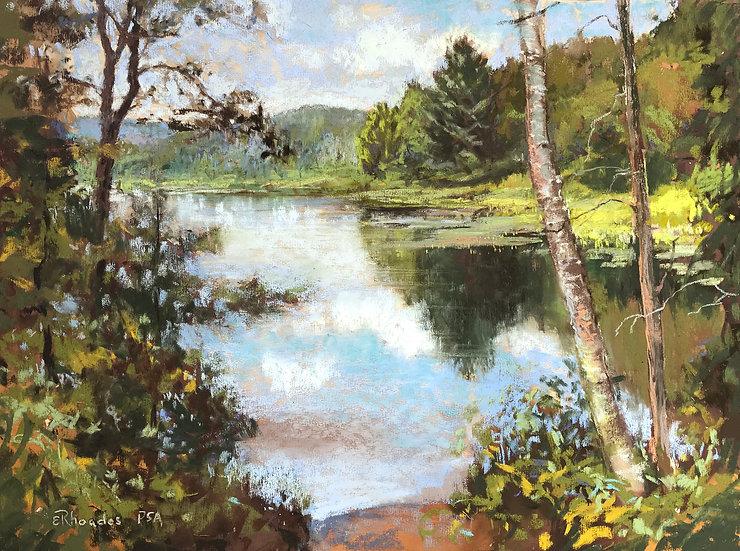 Tranquil Waters by Elizabeth Rhoades