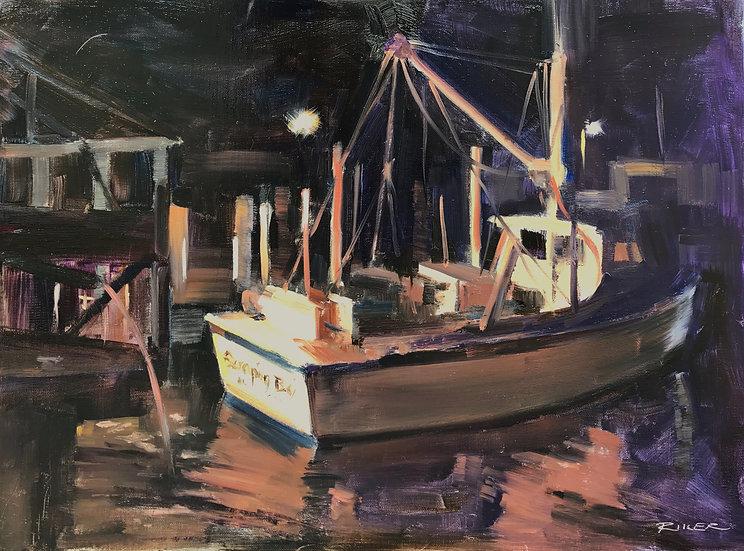 Sleeping Crabs by Julie Riker