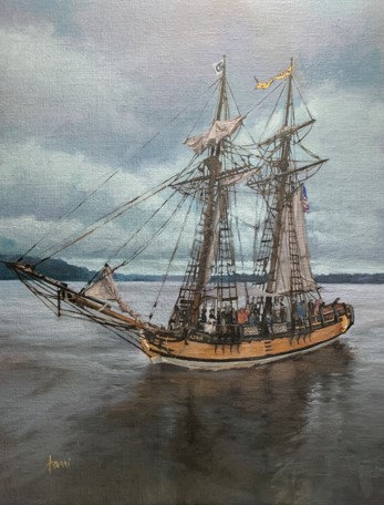 Stormy Sail on the Sultana