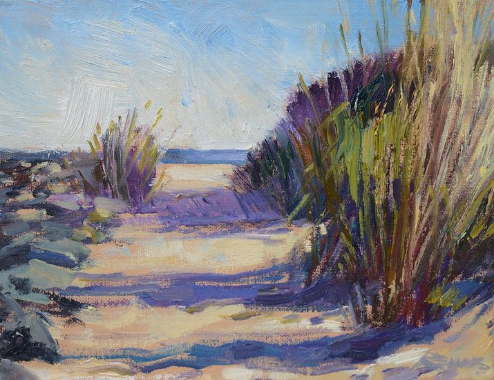 Beach Path by Jim Rehak