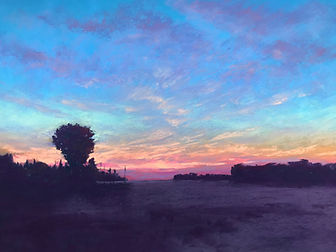 Sperlak Sometimes Before Dawn 12x16 past