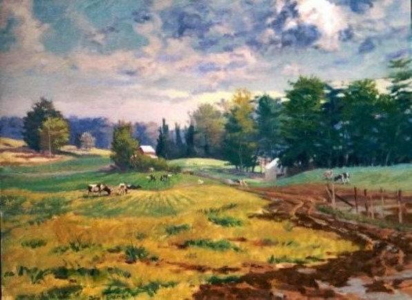 Still Pond Creek Farm/Payne's Pasture by John Eiseman