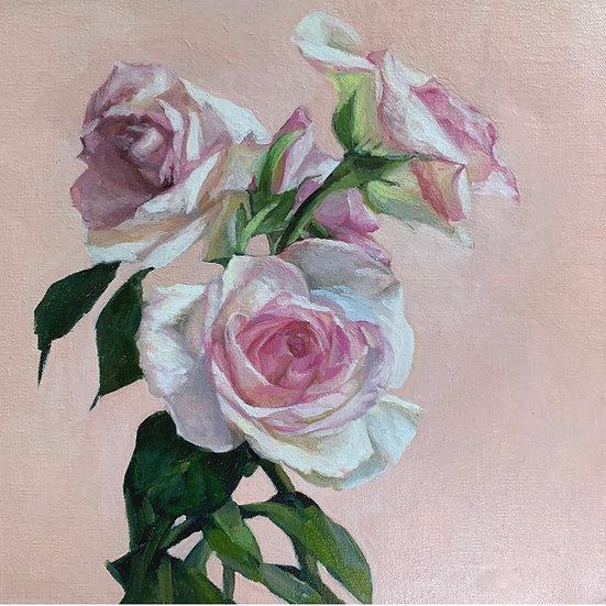 Pink Rose by Lani Browning