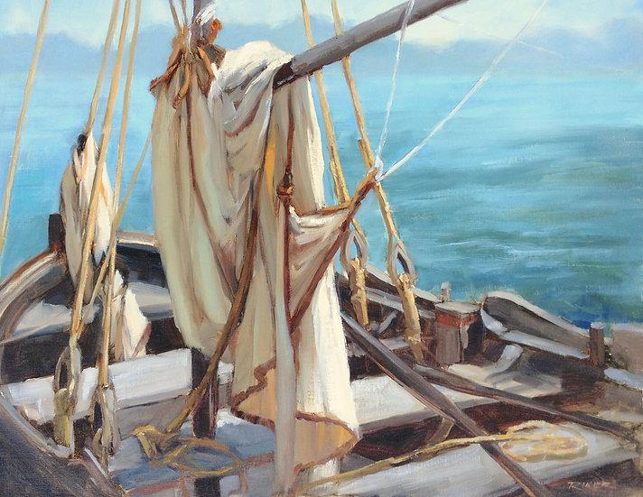 Draped Sail by Julie Riker