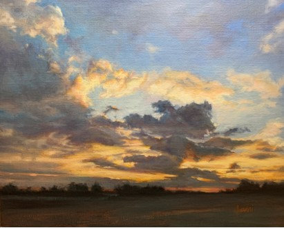 Eastern Shore Evening by Lani Browning