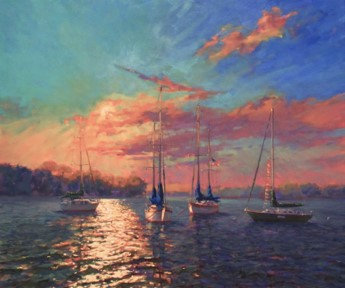 Morning Mooring by John Eiseman