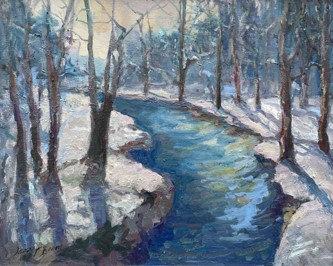 Winter Blue by Jacalyn Beam