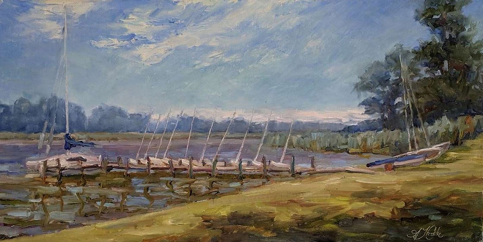 Sails at Rest by Ann Crostic