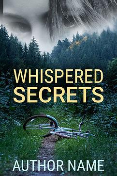 premade mystery suspense book cover