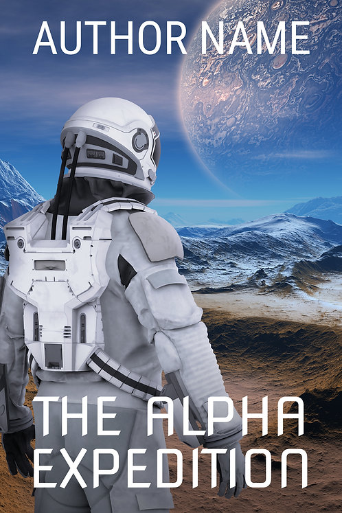 science fiction scifi premade book cover
