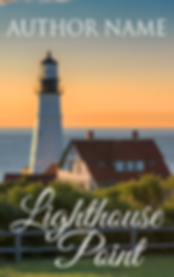 premade book cover romance lighthouse