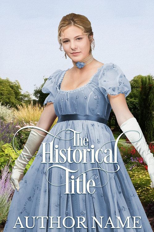 historical Regencyebook cover design