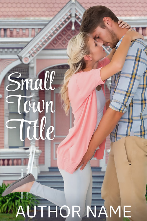 pre-made contemporary romance book cover design