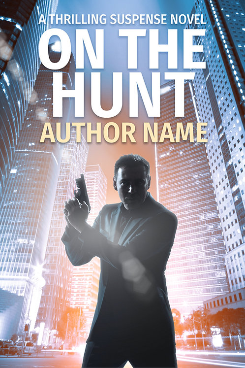 premade mystery book cover