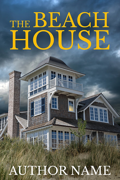 mystery, suspense or thriller premade book cover