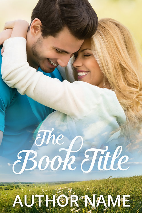 contemporary romance book cover design