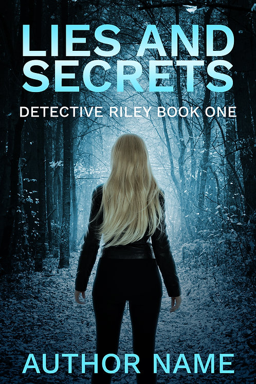 premade book cover mystery thriller suspense