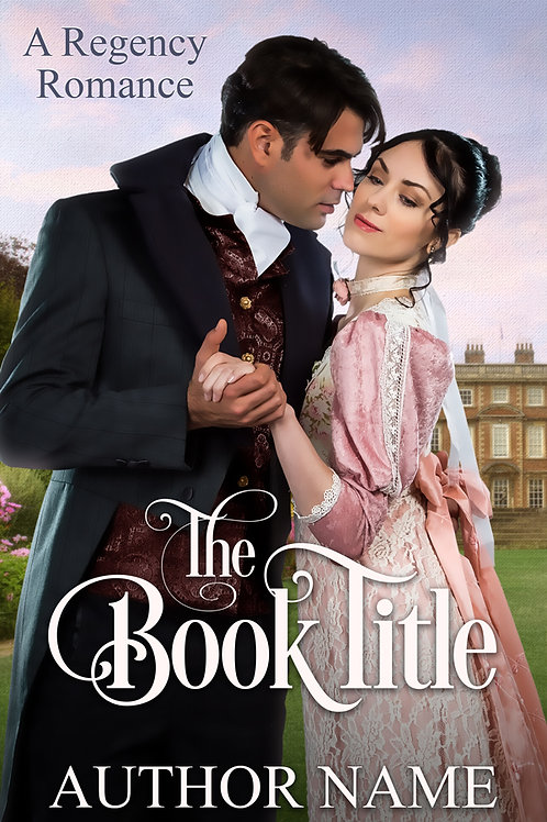 pre-made Regency ebook cover design