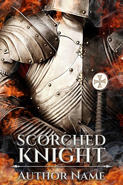 fantasy premade book cover medieval knight