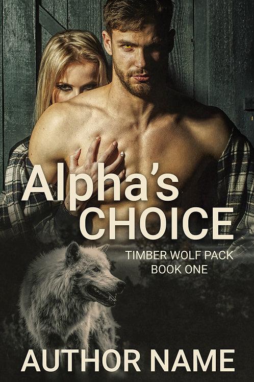 Paranormal Romance Premade Book Cover