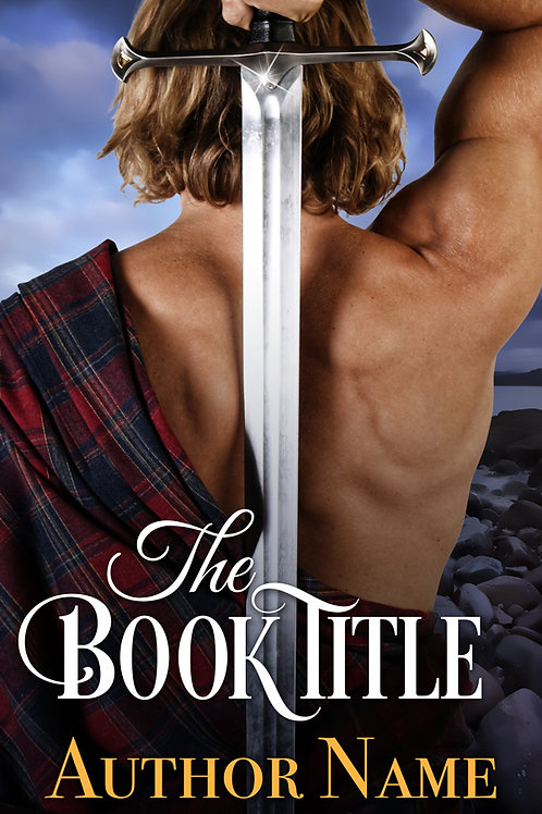 premade scottish ebook cover design