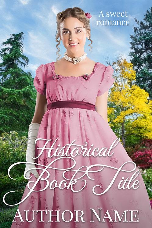 historical premade book cover