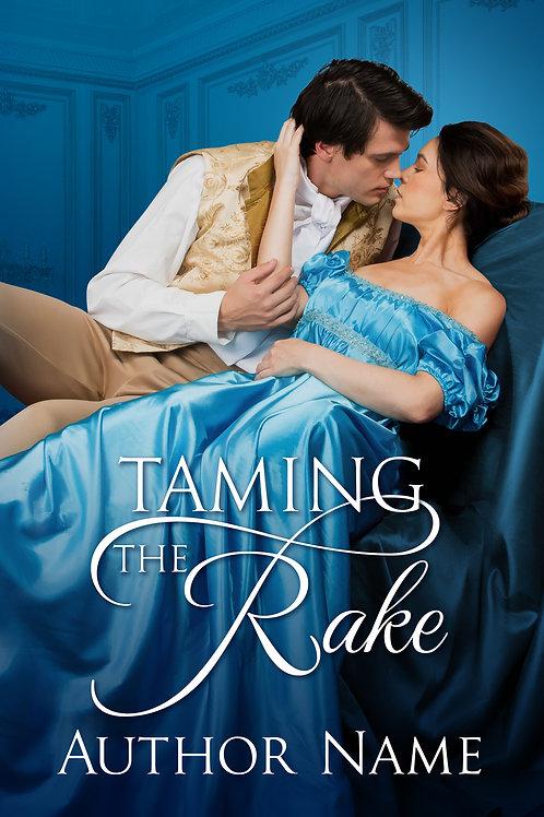 Regency Romance Premade Book Cover