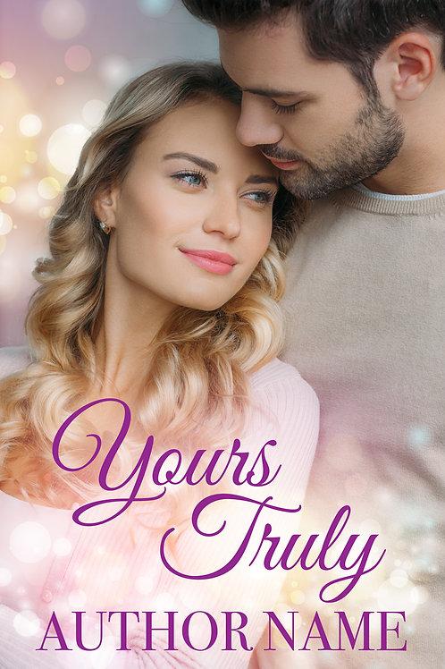 contemporary romance premade book cover