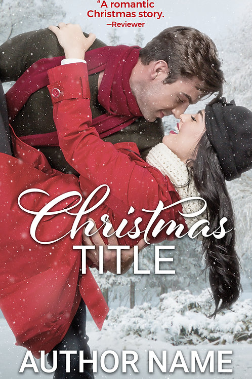 Premade Book Cover Holiday #6
