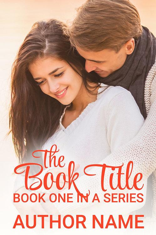 pre-made contemporary romance book cover