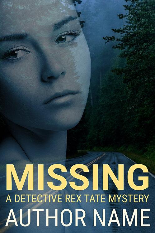 Premade Mystery-Suspense Book Cover