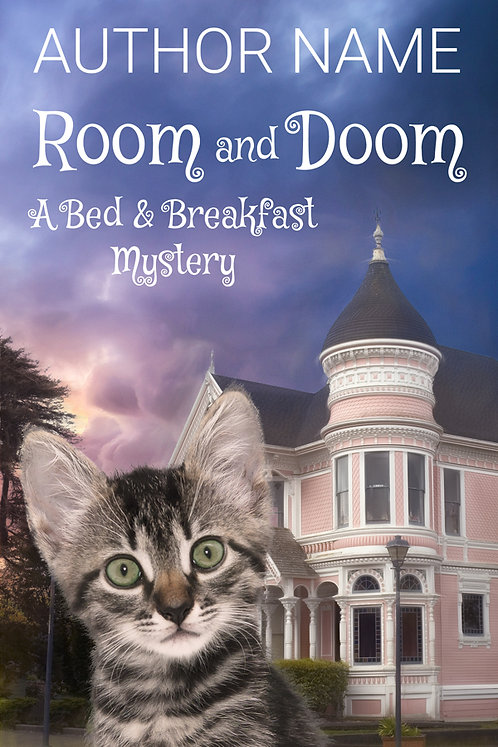 Cozy Mystery Premade Book Cover