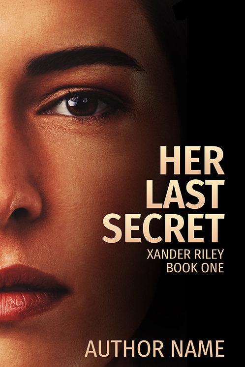 mystery, suspense, thriller premade book cover