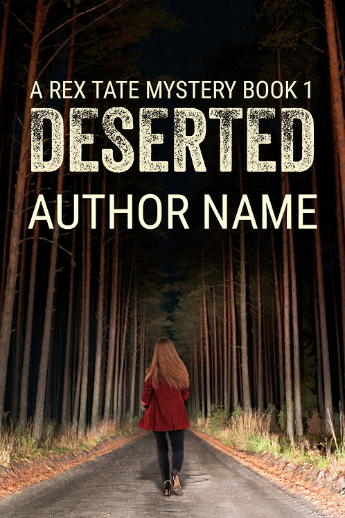 Premade Mystery-Suspense Book Cover