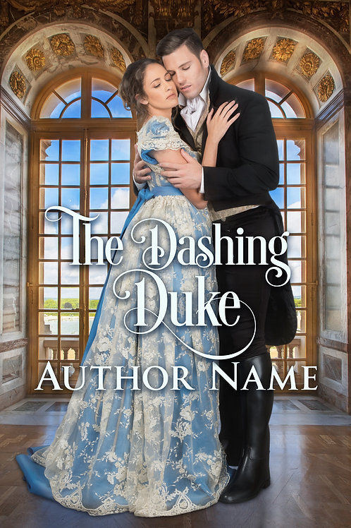 regency premade book cover