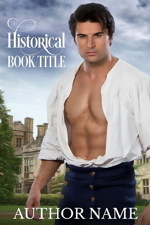 Historical Romance Premade Book Cover