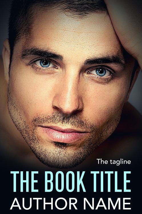premade contemporary romance book cover design