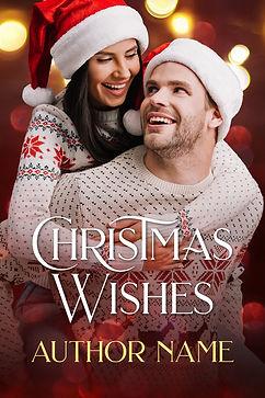 Premade Book Cover Christmas