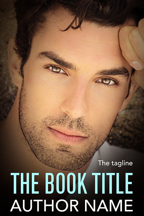 Pre-made contemporary romance book cover design