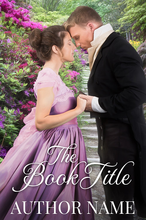 historical romance book cover for sale