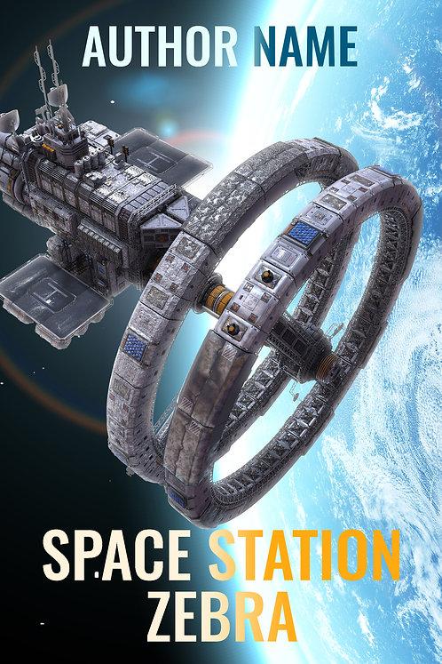 science fiction scifi premade book cover