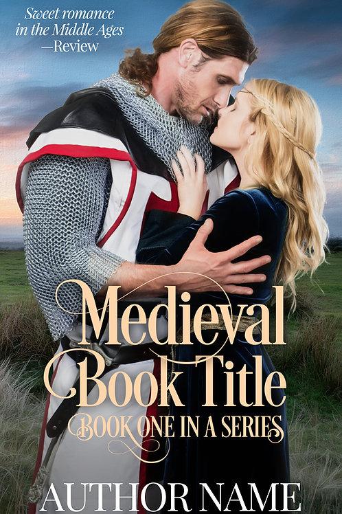 Pre-made Medievalromanceebook cover