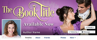 facebook banners for authors
