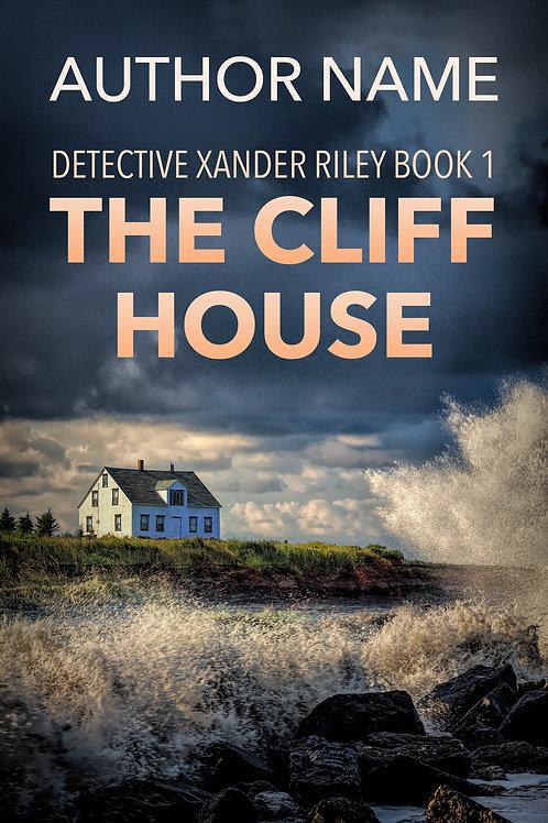 mystery suspense premade book cover