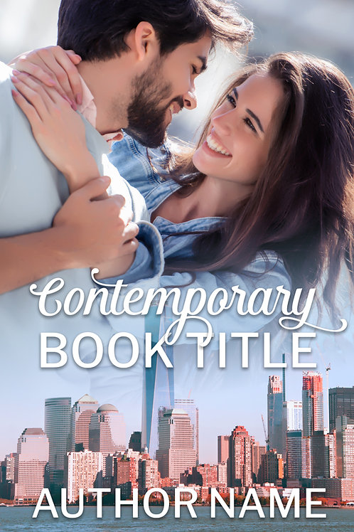 Pre-made contemporary romance ebook cover design