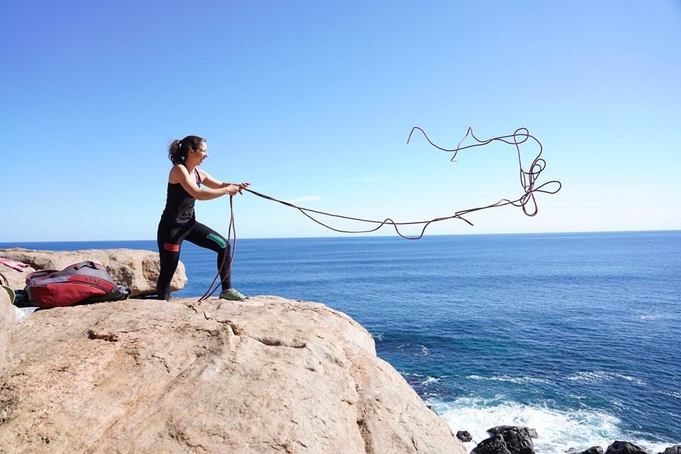 L'art de faire des noeuds à Willyabrup, WA
