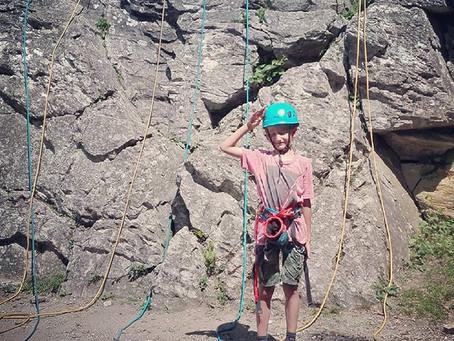 Victor le p'tit grimpeur !