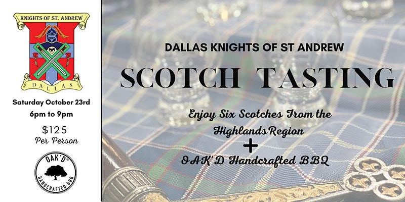 Scotch That Will Rock! Reserve for Dallas Tasting Now.