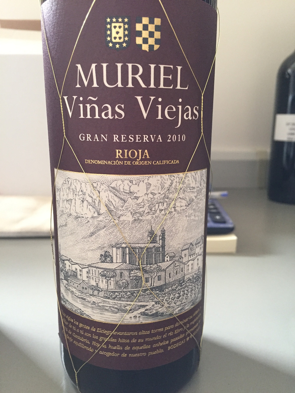 Estate grown wine from Bodegas Muriel