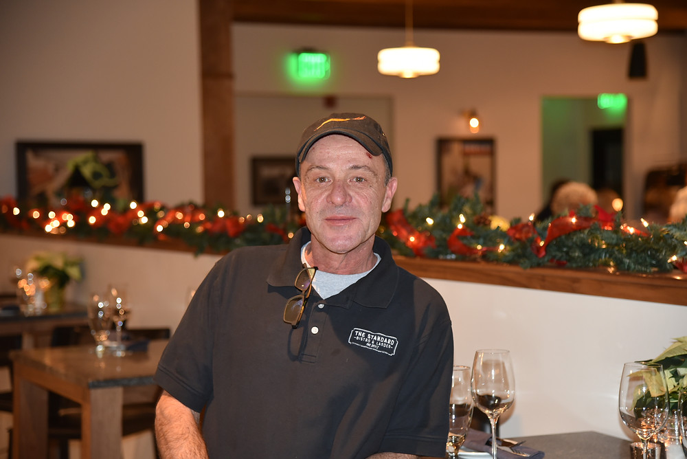 Chef/owner Alex Young of Standard Bistro and Larder